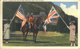 cmp001005 - Royal Canadian Mounted Police Old Vintage Antique Postcard Post Card