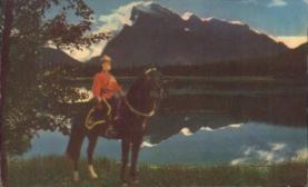 cmp001013 - Royal Canadian Mounted Police Old Vintage Antique Postcard Post Card