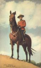 cmp001023 - Royal Canadian Mounted Police Old Vintage Antique Postcard Post Card
