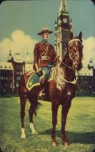 cmp001025 - Ottawa, Ontario, Canada Royal Canadian Mounted Police Old Vintage Antique Postcard Post Card
