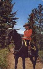 cmp001027 - Royal Canadian Mounted Police Old Vintage Antique Postcard Post Card
