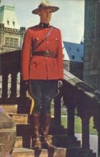 cmp001029 - Royal Canadian Mounted Police Old Vintage Antique Postcard Post Card