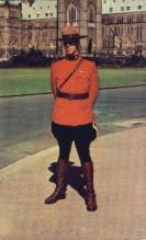 cmp001032 - Royal Canadian Mounted Police Old Vintage Antique Postcard Post Card