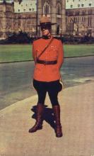 cmp001032 - Royal Canadian Mounted Police Old Vintage Antique Postcard Post Card