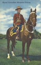cmp001034 - Royal Canadian Mounted Police Old Vintage Antique Postcard Post Card