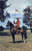 cmp001035 - Royal Canadian Mounted Police Old Vintage Antique Postcard Post Card