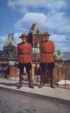 cmp001040 - Royal Canadian Mounted Police Old Vintage Antique Postcard Post Card