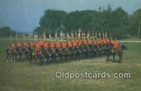 cmp001046 - Black Watch, Royal Canadian Mounted Police, Old Vintage Antique Postcard Post Card