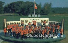 cmp001047 - Black Watch, Royal Canadian Mounted Police, Old Vintage Antique Postcard Post Card