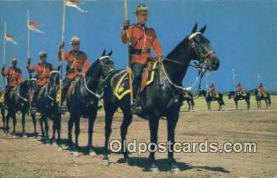 cmp001048 - Black Watch, Royal Canadian Mounted Police, Old Vintage Antique Postcard Post Card
