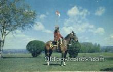 cmp001049 - Black Watch, Royal Canadian Mounted Police, Old Vintage Antique Postcard Post Card
