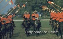cmp001050 - Black Watch, Royal Canadian Mounted Police, Old Vintage Antique Postcard Post Card