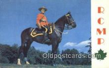cmp001051 - Black Watch, Royal Canadian Mounted Police, Old Vintage Antique Postcard Post Card