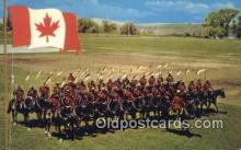cmp001053 - Black Watch, Royal Canadian Mounted Police, Old Vintage Antique Postcard Post Card