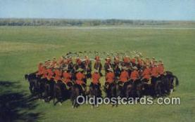 cmp001055 - Black Watch, Royal Canadian Mounted Police, Old Vintage Antique Postcard Post Card
