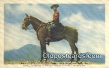 cmp001056 - Black Watch, Royal Canadian Mounted Police, Old Vintage Antique Postcard Post Card