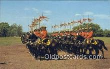 cmp001061 - Black Watch, Royal Canadian Mounted Police, Old Vintage Antique Postcard Post Card