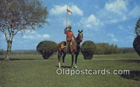 cmp001062 - Black Watch, Royal Canadian Mounted Police, Old Vintage Antique Postcard Post Card