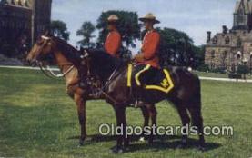 cmp001064 - Black Watch, Royal Canadian Mounted Police, Old Vintage Antique Postcard Post Card