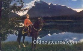 cmp001068 - Black Watch, Royal Canadian Mounted Police, Old Vintage Antique Postcard Post Card