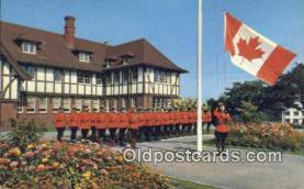 cmp001070 - Black Watch, Royal Canadian Mounted Police, Old Vintage Antique Postcard Post Card