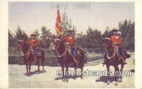 cmp001074 - Black Watch, Royal Canadian Mounted Police, Old Vintage Antique Postcard Post Card