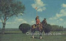 cmp001076 - Black Watch, Royal Canadian Mounted Police, Old Vintage Antique Postcard Post Card