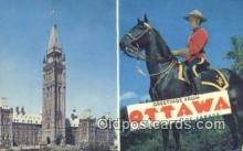 cmp001077 - Black Watch, Royal Canadian Mounted Police, Old Vintage Antique Postcard Post Card