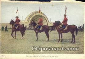 cmp001084 - Black Watch, Royal Canadian Mounted Police, Old Vintage Antique Postcard Post Card