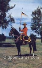 cmp001085 - Black Watch, Royal Canadian Mounted Police, Old Vintage Antique Postcard Post Card