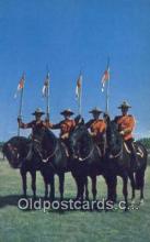 cmp001087 - Black Watch, Royal Canadian Mounted Police, Old Vintage Antique Postcard Post Card