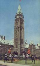 cmp001088 - Black Watch, Royal Canadian Mounted Police, Old Vintage Antique Postcard Post Card