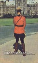 cmp001091 - Black Watch, Royal Canadian Mounted Police, Old Vintage Antique Postcard Post Card