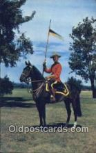 cmp001093 - Black Watch, Royal Canadian Mounted Police, Old Vintage Antique Postcard Post Card
