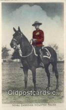 cmp001094 - Black Watch, Royal Canadian Mounted Police, Old Vintage Antique Postcard Post Card
