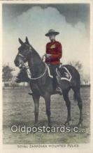cmp001094 - Black Watch, Royal Canadian Mounted Police, Old Vintage Antique Postcard Post Card