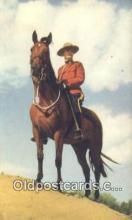 cmp001095 - Black Watch, Royal Canadian Mounted Police, Old Vintage Antique Postcard Post Card