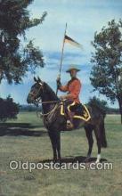 cmp001096 - Black Watch, Royal Canadian Mounted Police, Old Vintage Antique Postcard Post Card