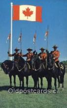 cmp001097 - Black Watch, Royal Canadian Mounted Police, Old Vintage Antique Postcard Post Card