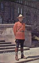 cmp001098 - Black Watch, Royal Canadian Mounted Police, Old Vintage Antique Postcard Post Card