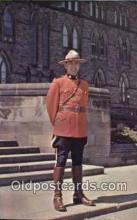 cmp001098 - Black Watch, Royal Canadian Mounted Police, Old Vintage Antique Postcard Post Card