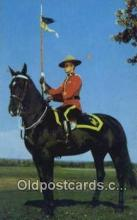 cmp001100 - Black Watch, Royal Canadian Mounted Police, Old Vintage Antique Postcard Post Card