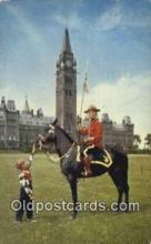 cmp001103 - Black Watch, Royal Canadian Mounted Police, Old Vintage Antique Postcard Post Card