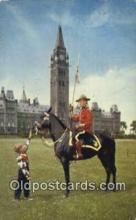 cmp001103 - Black Watch, Royal Canadian Mounted Police, Old Vintage Antique Postcard Post Card