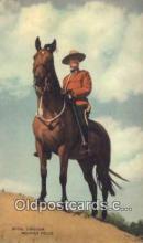 cmp001104 - Black Watch, Royal Canadian Mounted Police, Old Vintage Antique Postcard Post Card