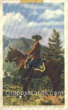 cmp001106 - Black Watch, Royal Canadian Mounted Police, Old Vintage Antique Postcard Post Card