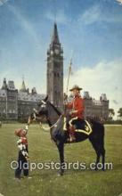 cmp001109 - Black Watch, Royal Canadian Mounted Police, Old Vintage Antique Postcard Post Card