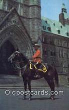 cmp001113 - Black Watch, Royal Canadian Mounted Police, Old Vintage Antique Postcard Post Card