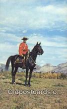 cmp001114 - Black Watch, Royal Canadian Mounted Police, Old Vintage Antique Postcard Post Card
