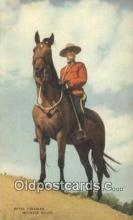 cmp001116 - Black Watch, Royal Canadian Mounted Police, Old Vintage Antique Postcard Post Card